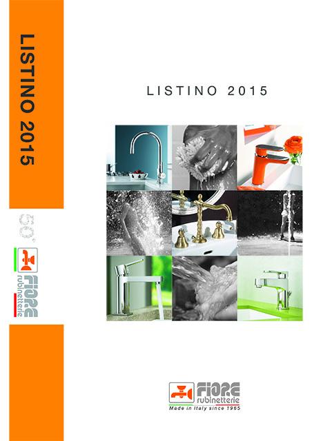 Catalogo Listino FIORE - Gennaio 2015