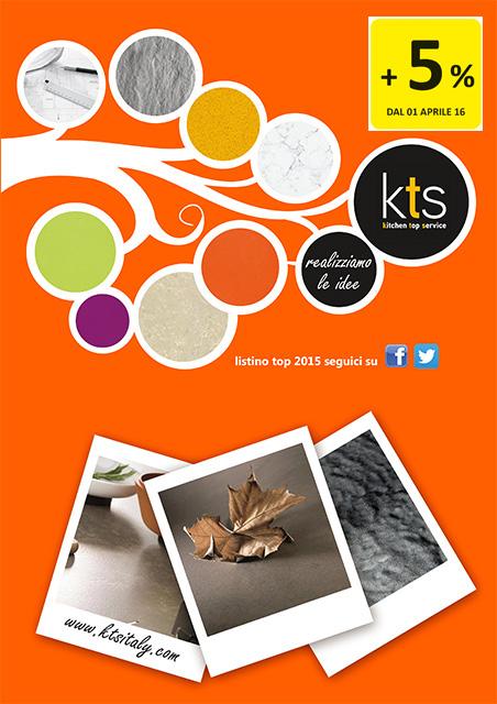 Catalogo Listino KTS - Aprile 2016